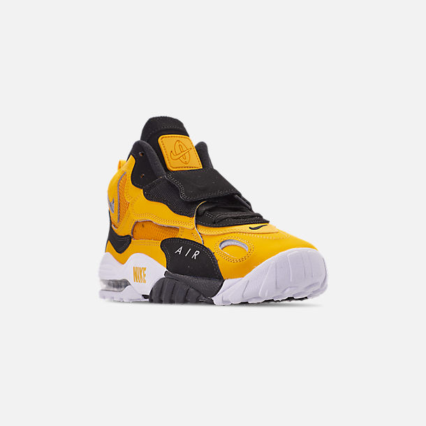 2ac5a25a5 Three Quarter view of Men's Nike Air Max Speed Turf Training Shoes in  University Gold/
