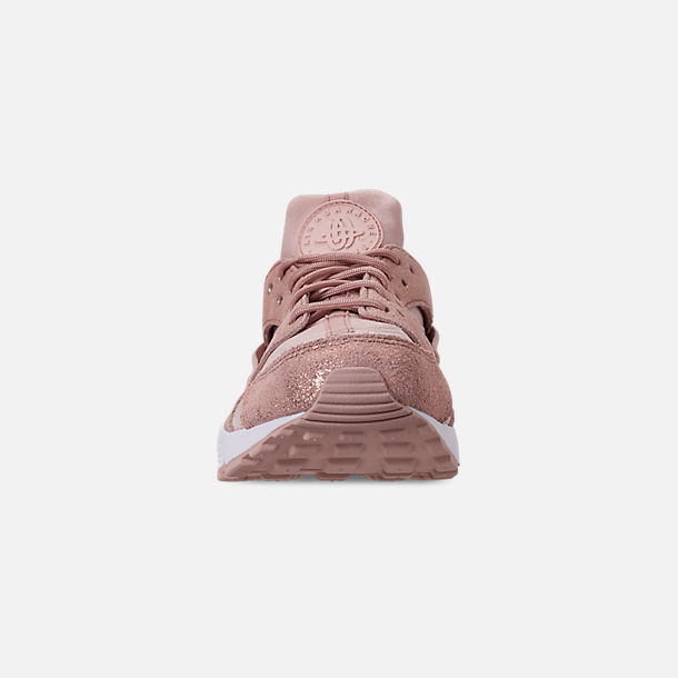 40205af1e0ec Front view of Women s Nike Air Huarache Run BL Casual Shoes in Particle  Beige Particle