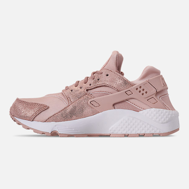 05a52fc3bc29f Left view of Women s Nike Air Huarache Run BL Casual Shoes in Particle Beige  Particle