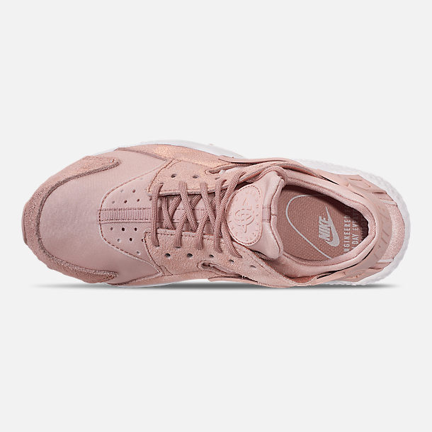 6c734450f31a Top view of Women s Nike Air Huarache Run BL Casual Shoes in Particle Beige  Particle