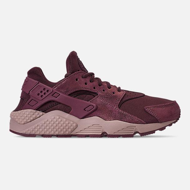 sports shoes 4128b 7daa5 Right view of Women s Nike Air Huarache Run BL Casual Shoes in Burgundy  Crush Burgundy