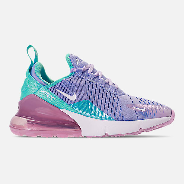 d90ffe3c71416a Right view of Girls  Big Kids  Nike Air Max 270 Casual Shoes in Unicorn