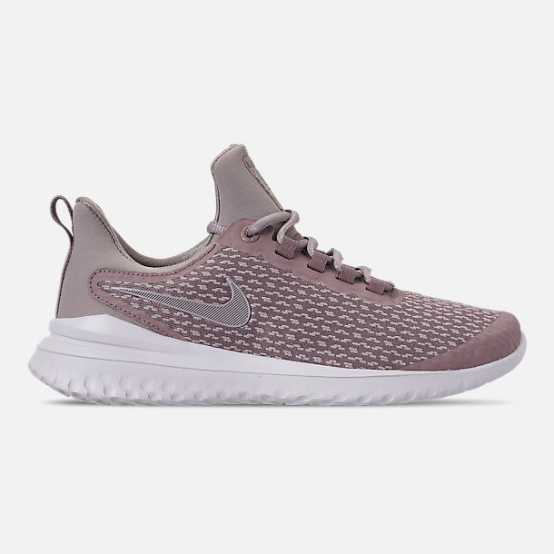 3cf317a9ed6ef Right view of Women's Nike Renew Rival Running Shoes in Diffused Taupe/Moon  Particle/