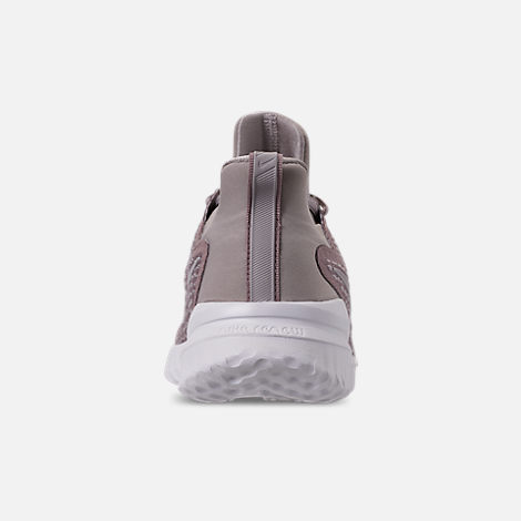 Back view of Women's Nike Renew Rival Running Shoes in Diffused Taupe/Moon Particle/Summit White