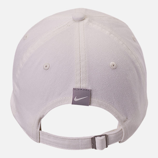 Alternate view of Nike Sportswear H86 Varsity Adjustable Back Hat in Sail/Atmosphere Grey