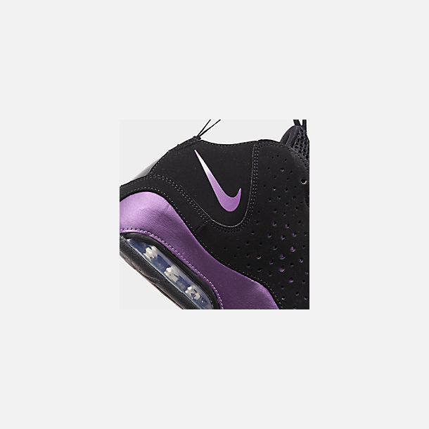 quality design 52291 6b0dc Front view of Boys  Big Kids  Nike Air Max Wavy Basketball Shoes in Black