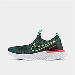 Boys' Big Kids' Nike Epic Phantom React Flyknit Running Shoes