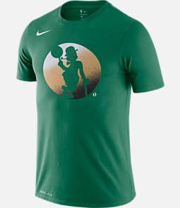 Men's Nike Boston Celtics NBA Mezzo Logo Performance T-Shirt