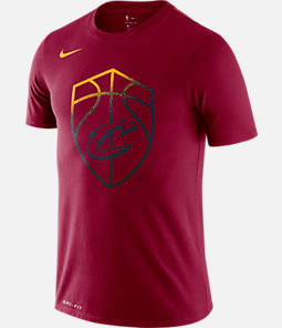 Men's Nike Cleveland Cavaliers NBA Mezzo Logo Performance T-Shirt