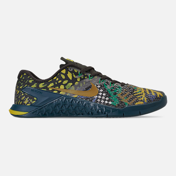 Right view of Men's Nike Metcon 4 XD Training Shoes in Sequoia/Desert Moss/Nightshade