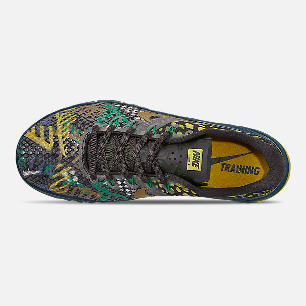 Top view of Men's Nike Metcon 4 XD Training Shoes in Sequoia/Desert Moss/Nightshade