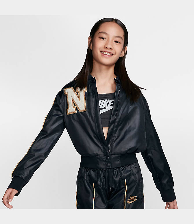 nike damen jacke rally jkt varsity air