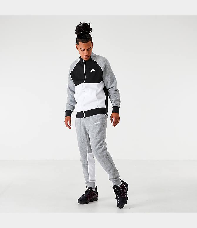 Men's Nike Sportswear Colorblock Club Fleece Track Jacket