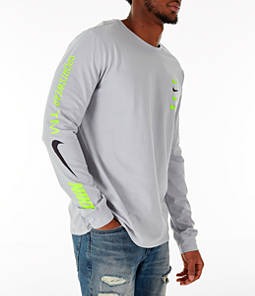 Men's Nike Sportswear Microbranding Long Sleeve T-Shirt