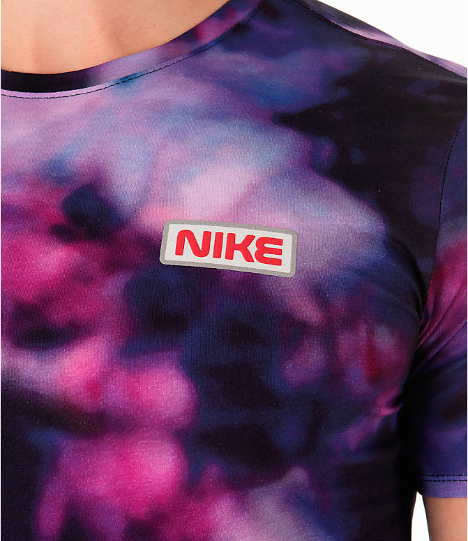 Detail 1 view of Men's Nike Sportswear Stargazer T-Shirt in Black/Multi