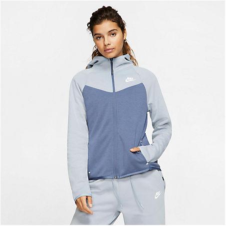 Nike Cottons NIKE WOMEN'S SPORTSWEAR WINDRUNNER TECH FLEECE FULL-ZIP HOODIE