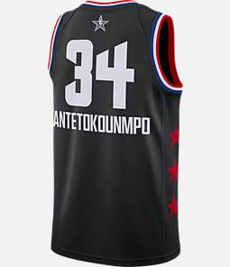Men's Jordan Milwaukee Bucks Giannis Antetokounmpo NBA All-Star Weekend 2019 Swingman Jersey