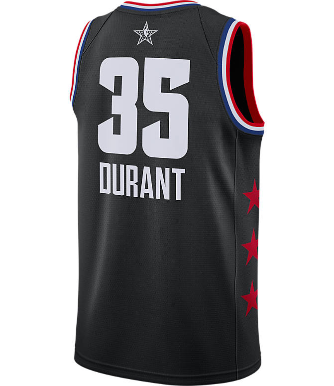 a2e61cec0 Front view of Men s Jordan Golden State Warriors Kevin Durant NBA All-Star  Weekend 2019