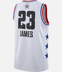 Men s Jordan Los Angeles Lakers LeBron James NBA All-Star Weekend 2019  Swingman Jersey 714dfce04