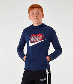 Boys' Nike Sportswear Exploded Hoodie