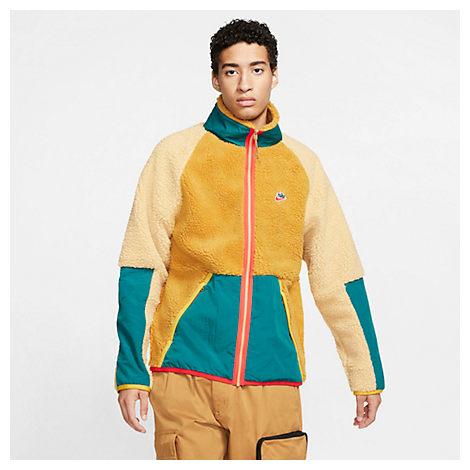 nike fleece sherpa
