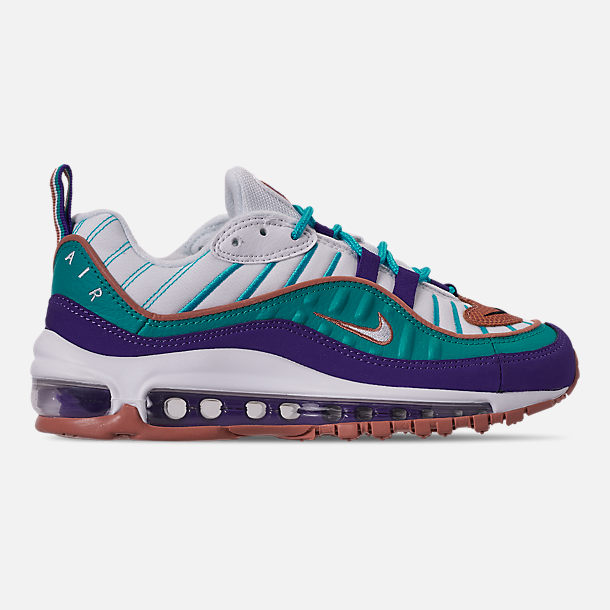 bacddc239a Right view of Boys' Big Kids' Nike Air Max 98 Casual Shoes in Court