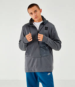 Men's Nike Air Max Poly Half-Zip Hoodie