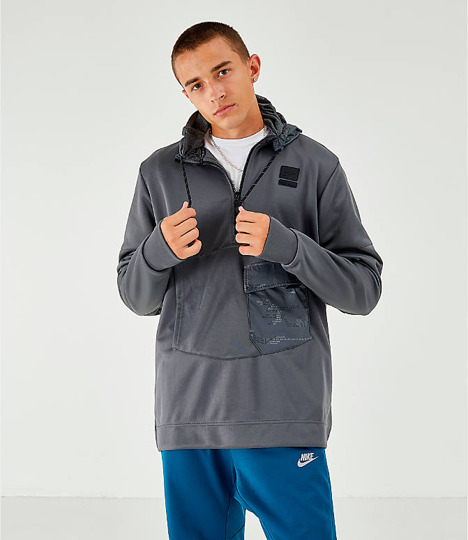 Men's Nike Air Max Poly Half Zip Hoodie