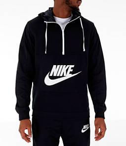 Men's Nike Sportswear Hybrid Half-Zip Hoodie
