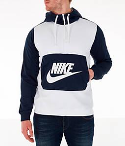b26df0ea4637 Men s Nike Sportswear Hybrid Half-Zip Hoodie