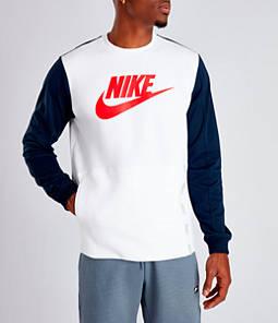 Men's Nike Sportswear Hybrid Crewneck Sweatshirt