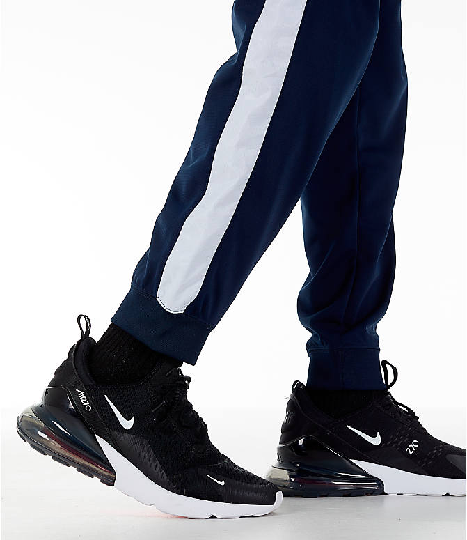 Detail 2 view of Men's Nike Sportswear Hybrid Jogger Track Pants in Obsidian