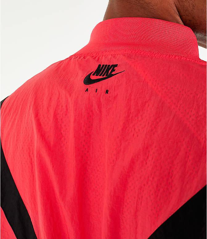 ad40b1c27a6d Detail 1 view of Men s Air Jordan Retro 6 Legacy Nylon Jacket in Ember Glow