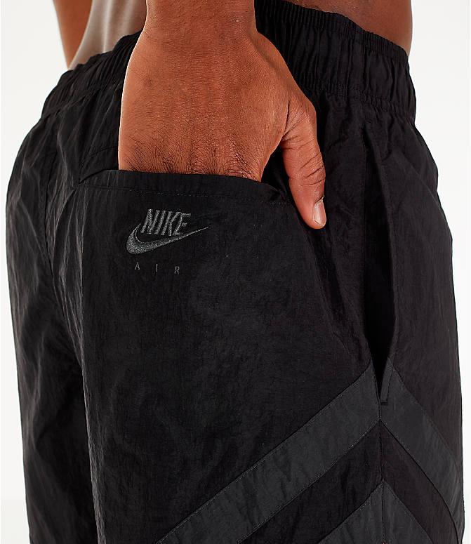 caa825cc4f93 Detail 2 view of Men s Air Jordan Retro 6 Sport Legacy Nylon Basketball  Shorts in Black