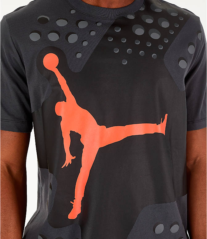 Detail 1 view of Men's Jordan Legacy AJ6 T-Shirt in Black
