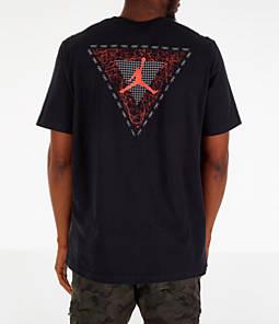 Men's Air Jordan Retro 4 Splatter T-Shirt