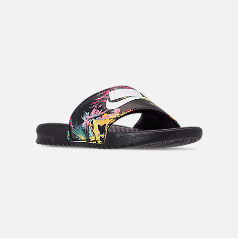 Men's Nike Benassi Jdi Print Tp Slide Sandals by Nike