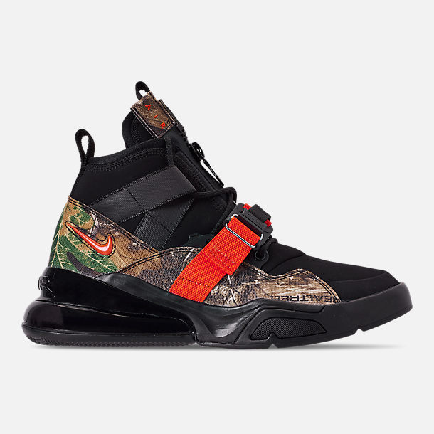 new product dc0e9 b7d9e Men's Nike Air Force 270 Utility Realtree Off-Court Shoes