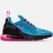 Light Blue Fury/Laser Fuchsia/Black