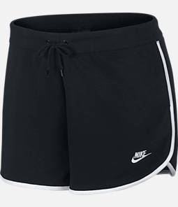Women's Nike Sportswear Heritage Fleece Shorts - Plus Size