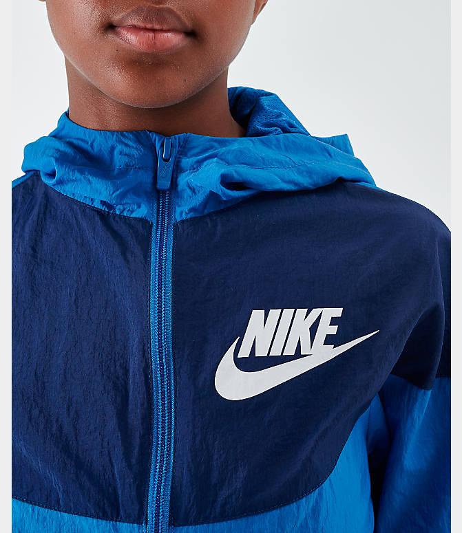 Boys' Nike Sportswear Woven Jacket