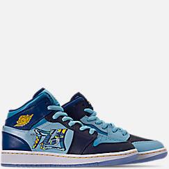 Boys' Big Kids' Air Jordan 1 Mid Fly Casual Shoes