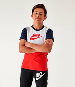 Boys' Nike Sportswear Hybrid T-Shirt