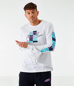 Men's Nike Sportswear Expressive Brand Long-Sleeve T-Shirt