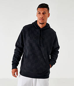 Men's Nike Sportswear Checkered Fleece Hoodie