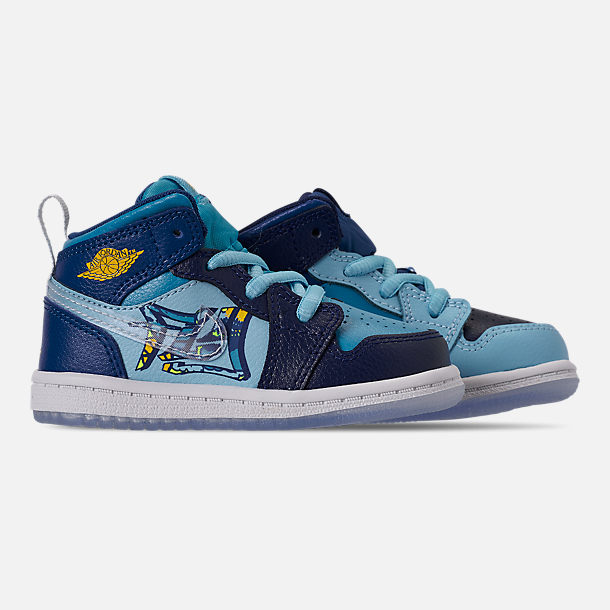 promo code 2a90c 25724 Boys' Toddler Air Jordan 1 Mid Fly Casual Shoes