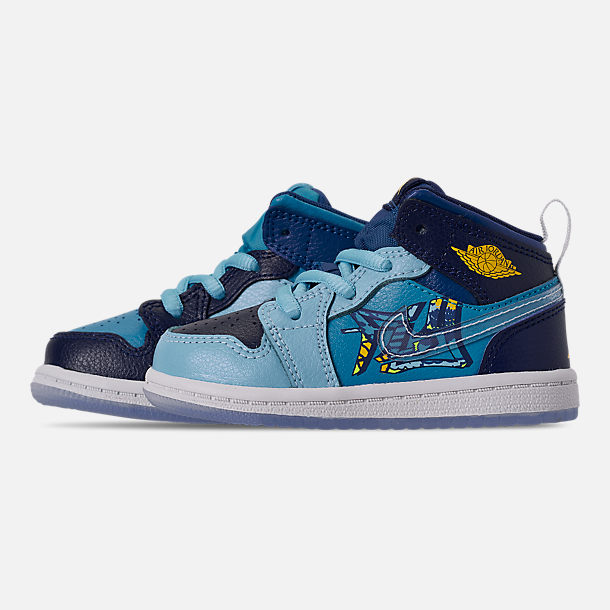 promo code 44922 85185 Boys' Toddler Air Jordan 1 Mid Fly Casual Shoes