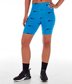 Women's Nike Air Allover Print Bike Shorts