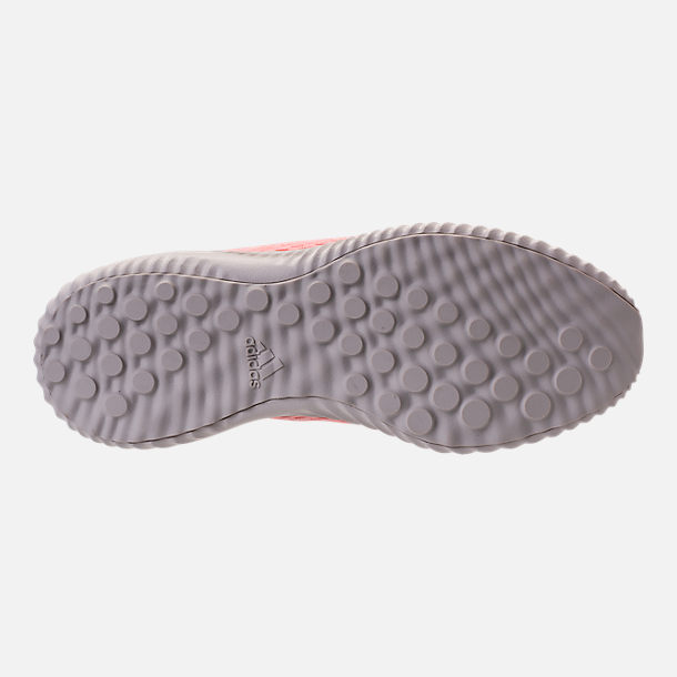 Bottom view of Women's adidas AlphaBounce EM Running Shoes in Icey Pink/Trace Pink/Grey