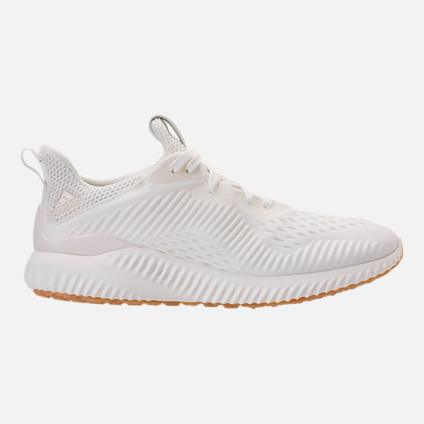 Right view of Women's adidas AlphaBounce EM Undyed Running Shoes in Non-Dyed